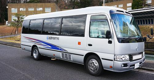 写真:スクールバス